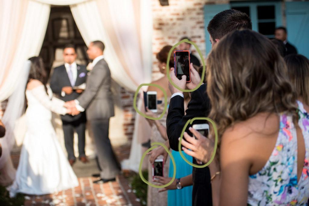 Hey look, 4 phones in 1 shot.