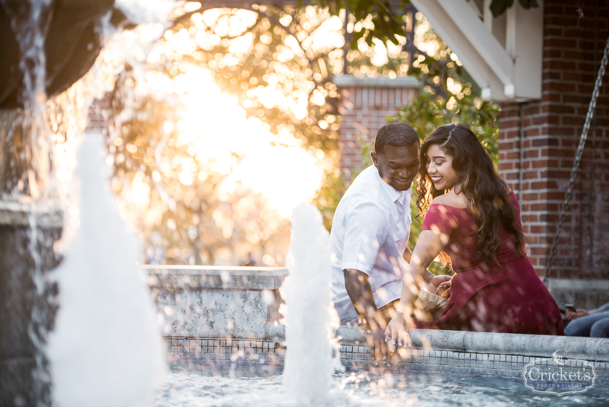 Winter Garden Engagement Session Photography