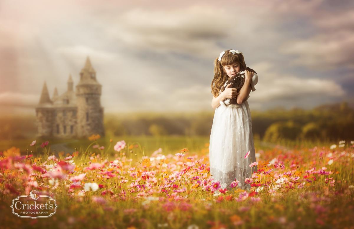 orlando children photography disney princess