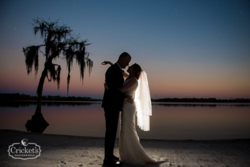 Destination Orlando Paradise Cove Wedding