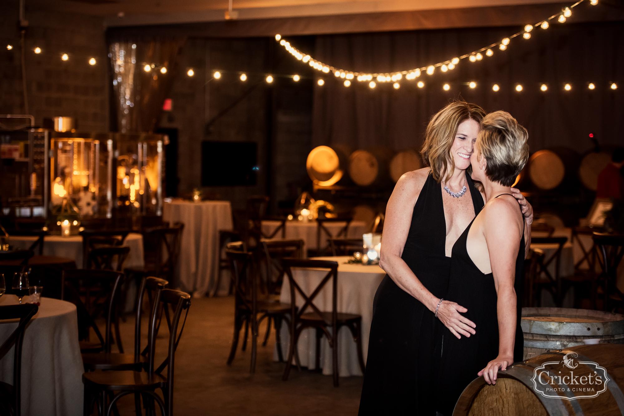 Catherine And Colette S Rocking Orlando Florida Wedding