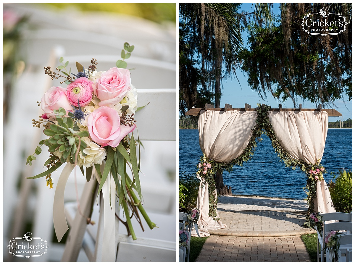Paradise Cove Orlando Wedding