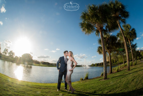 JW marriott orlando rehearsal dinner photography