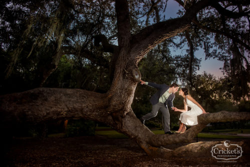 downtown orlando park engagement session