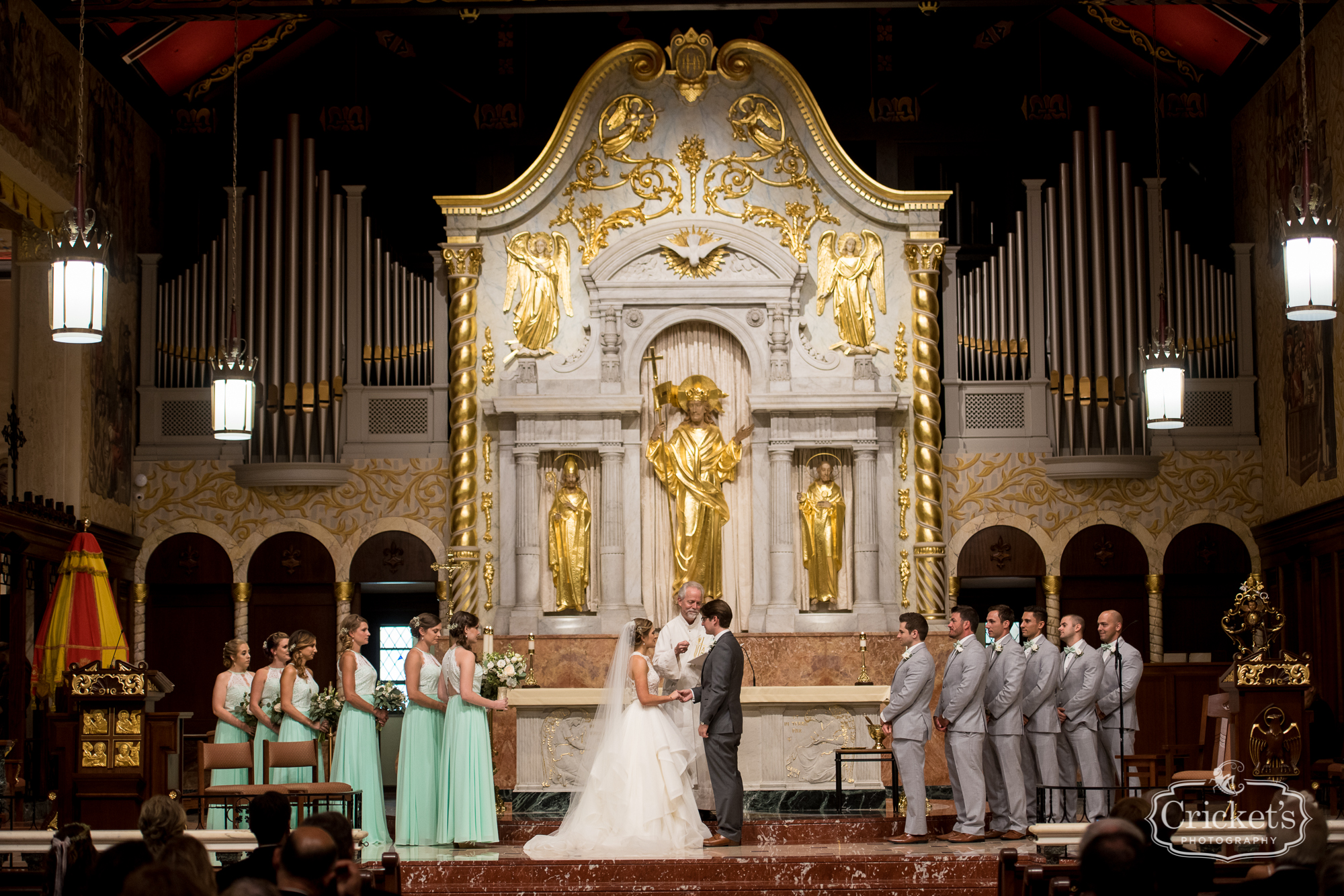 st augustine treasury on the plaza wedding photography