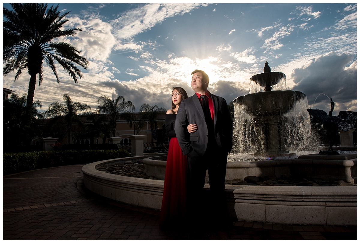 rosen shingle creek orlando anniversary photography
