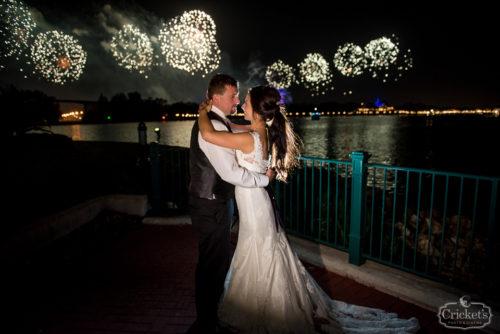 Disney fairy tale wedding photography