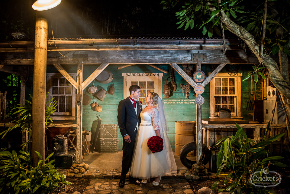 Disney Animal Kingdom Wedding Photography