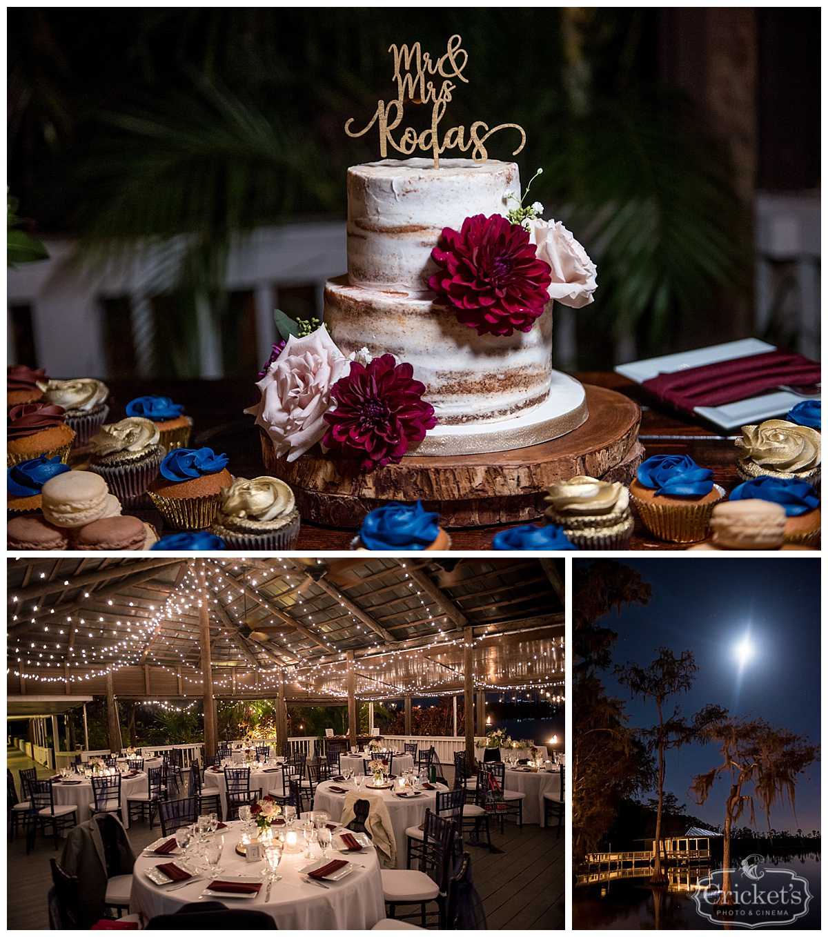 Lauren and mikes fun navy and wine paradise cove orlando florida paradise cove orlando wedding junglespirit Image collections