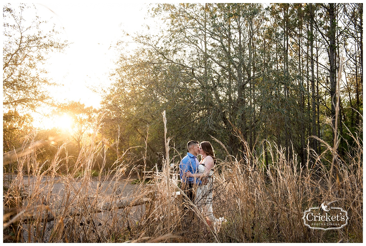 Danie and Nelson\'s romantic Floridian forest engagement photography ...