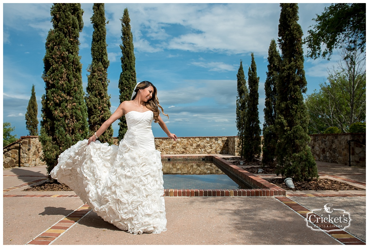 Tiffany and Anthony\'s Wisteria and Grey Bella Collina Wedding